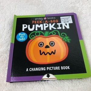 📚4/$12 Peekaboo Pumpkin kids book New
